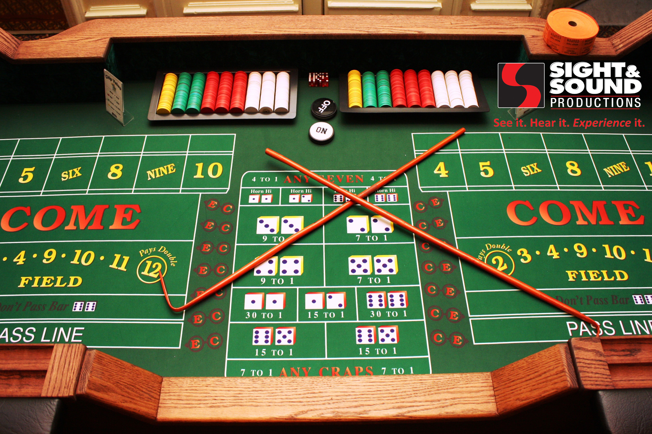 How to win at craps at the casino